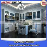 2016 New style bookcase with study table and glass door model made in China                                                                         Quality Choice