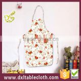 Fashion style fruit graphic plastic Kitchen Bib Aprons cooking apron