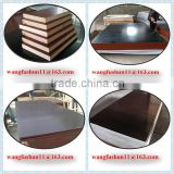 18mm Brown Film Faced Shuttering Plywood for Construction Material Vietnam film faced plywood