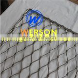 Steel Wire Rope Flexmesh, Stainless Steel Oxide Zoo Mesh,Ferruled Mesh,flexible ferruled inox line webnet | generalmesh