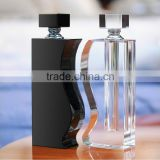 Brand unique crystal empty perfume bottle for wedding gift