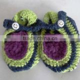 Baby Alpaca knitted booties for baby Handmade
