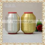 Good Quality In Dongyang wholesale St type Pure Silver Pure Golden Embroidery Metallic Yarn