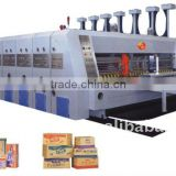 High speed corrugated cardboard carton box packaging machinery