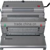 3 in 1 Electric Comb Binding Machine /Plastic Coil Binding Machine for 2015