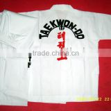 taekwondo clothing taekwondo suits taekwondo garment ITF taekwondo wear ITF taekwondo uniform V-neck kimonos