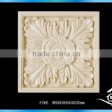 Artistic hand carved tile mural wall