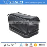 PU PVC Leather waterproof toiletry Bag for travel
