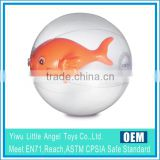 CE EN71 inflatable PVC beach ball with character inside ball with fish inside                                                                         Quality Choice