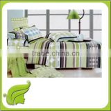 Home textile 100% polyester brushed fabric bedding set