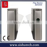 Aceess Control Subway Turnstile , Automatic Flap Turnstile