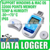 Temp Recorder Internal Sensor USB Temperature Data logger Datalogger