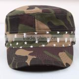 High Quality Custom Logo OEM order Hunting Camouflage Military Hat