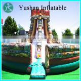 Factory cheap commercial banzai inflatable water slide