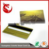 Glossy gift gold plated business vip card                                                                         Quality Choice