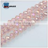Wholesale beads round ball jewelry beads China factory mix color crystal glass beads for wedding dress