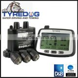 Truck and trailer RV motorhome external valve cap sensor Tire Pressure Monitoring System 8 tires TPMS
