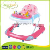 BW-35 Activity Electric Musical Play Tray Portable Baby Walker with Silica Gel Wheel