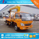 2.5MT XCMG Brand Crane Truck mounted crane low price for sale