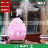 Room porcelain electric ultrasonic fog mist maker fogger fragrance diffuser