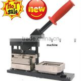 65*90mm new type of Fridge Magnet Making Machine/fridge magnet maker/rectangle button making machine