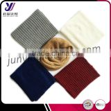 Unisex winter warm infinity 2 circle cable knitted scarf neckwarmer factory wholesale sales (accept custom)