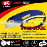 Heavy Duty wallpaper tool knife With 5 PCS extra Blades