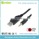 FT232RL USB to TTL 3.3V 5V to Stereo DC 3.5 Serial Cable for Galileo Programing