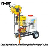 China Supplier Water Gun Garden Cart Plastic Water Tank Machine Power Sprayer Trolley YS-60T