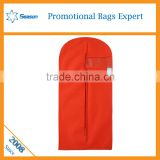 hard shell garment bag plastic cover for dress suit garment bag