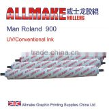 man roland 900 offset printing rubber rollers