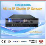 tv and radio station equipment for sale,Gateway,TS transfer, IP gateway, dvb IP Gateway COL5700BA