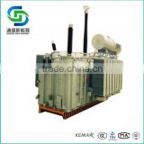 China high voltage oil immersed single phase power usage electric transformer manufacturer price supplier