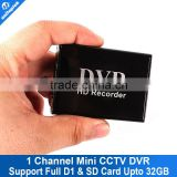 Board MPEG-4 Video Compression Video Recorder 1 Channel Xbox CCTV Mini DVR Support SD Card Real-time
