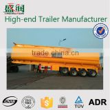 Shengrun factory hot-selling3 axle 40CBM Fuel Tanker / Oil Diesel Transport Truck Semi Tank Trailer For Sale