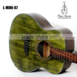 Hot sale China Qulity matte colour finish acoustic guitar L-mini-07