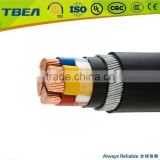 PVC insulated (steel wire armored) LV power cable for transmission and distribution electrical line