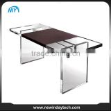 High quality corner table acrylic office desk used in office commercial furniture