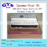 satellite tv receiver with internet connection Enigma2 Linux OS Zgemma Star H1 HD sat receiver
