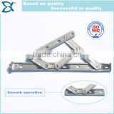 SUS304 Heavy duty stainless steel top hung window friction stay hinge