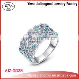 2015 Cheap New Design Beautiful Colored Ladies O- Rings