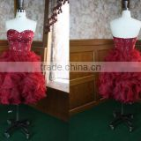 sexy wedding night dresses in china red High Quality Evening Gown