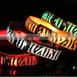 Hot selling led flashing leopard-spotted dog collar