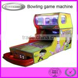 new product mini arcade crazy bowling amusement game machine