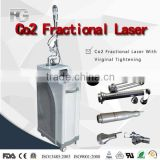 High Quality RF tube 10600nm CO2 Fractional laser system scar removal,wrinkles removal,acne removal clinic use