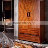 Chinese antique reproduction solid wood wedding wardrobe cabinet