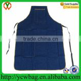Wholesale Pocket Heavy Duty Shop Denim Apron