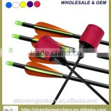 wholesale fiberglass shaft larp arrow for archery