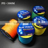 300M PE Fishing Line Strong Super Braided Lines Strands Wire Series Super Strong Japan Multifilament PE Braided 10LB-80LB