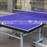 Aluminium outdoor ping pong table/ Folding legs removable table tennis table/Best selling ping pong table
